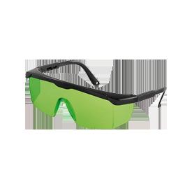 Lazerio spindulio akiniai žali